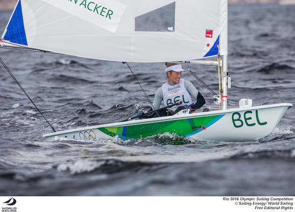 Evi van Acker-LaserRadial-BEL-Rio-photo by Sailing Energy - World Sailing