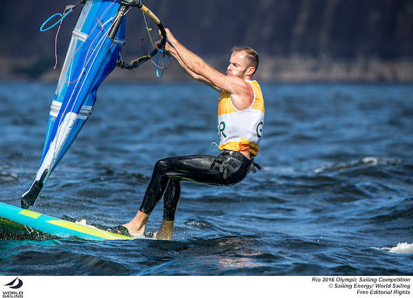 Nick Dempsey-RSXMens-GBR-Rio-photo by Sailing Energy - World Sailing