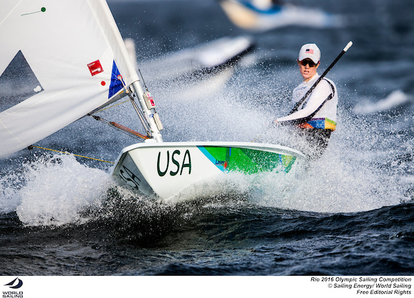 081516 RIO2016-LaserRadial-USA-PaigeRailey-photobySailingEnergy-WorldSailing-sm
